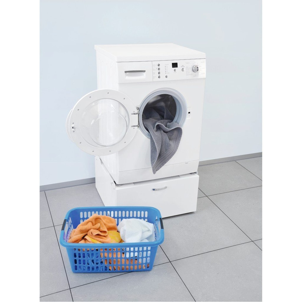 Xavax Unterbausockel für Waschmaschinen und Trockner »mit Schublade, 61 x 60 cm«