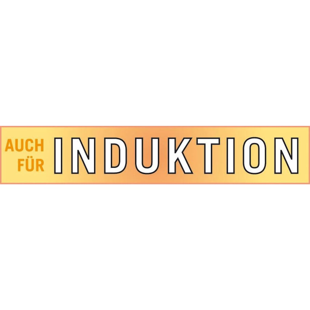 GSW Kochtopf »ELEGANCE«, Edelstahl 18/8, (1 tlg.), Induktion