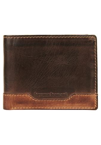 Bruno Banani Geldbörse »FOREST«, Kreditkartenfächer kaufen