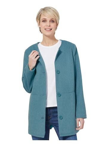 Classic Basics Jacke mit farbharmonischen Knöpfen kaufen