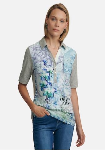 Peter Hahn Poloshirt »cotton«, und Umschlagsaum kaufen