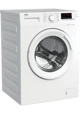 BEKO Waschmaschine »WML7163O4LP1«, WML7163O4LP1, 7 kg, 1600 U/min kaufen