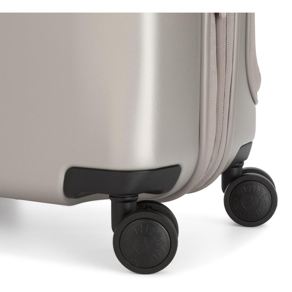 KIPLING Hartschalen-Trolley »Curiosity PKT, 55 cm, Metallic Glow«, 4 Rollen, mit Dokumentenfach