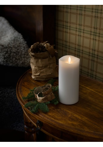 KONSTSMIDE LED-Kerze, LED Duftkerze, weiß, flackernd, mit Lavendel-Duftpad,Ø 9 cm,... kaufen