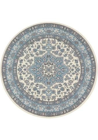 Teppich, »Parun Täbriz«, NOURISTAN, rund, Höhe 9 mm, maschinell gewebt kaufen