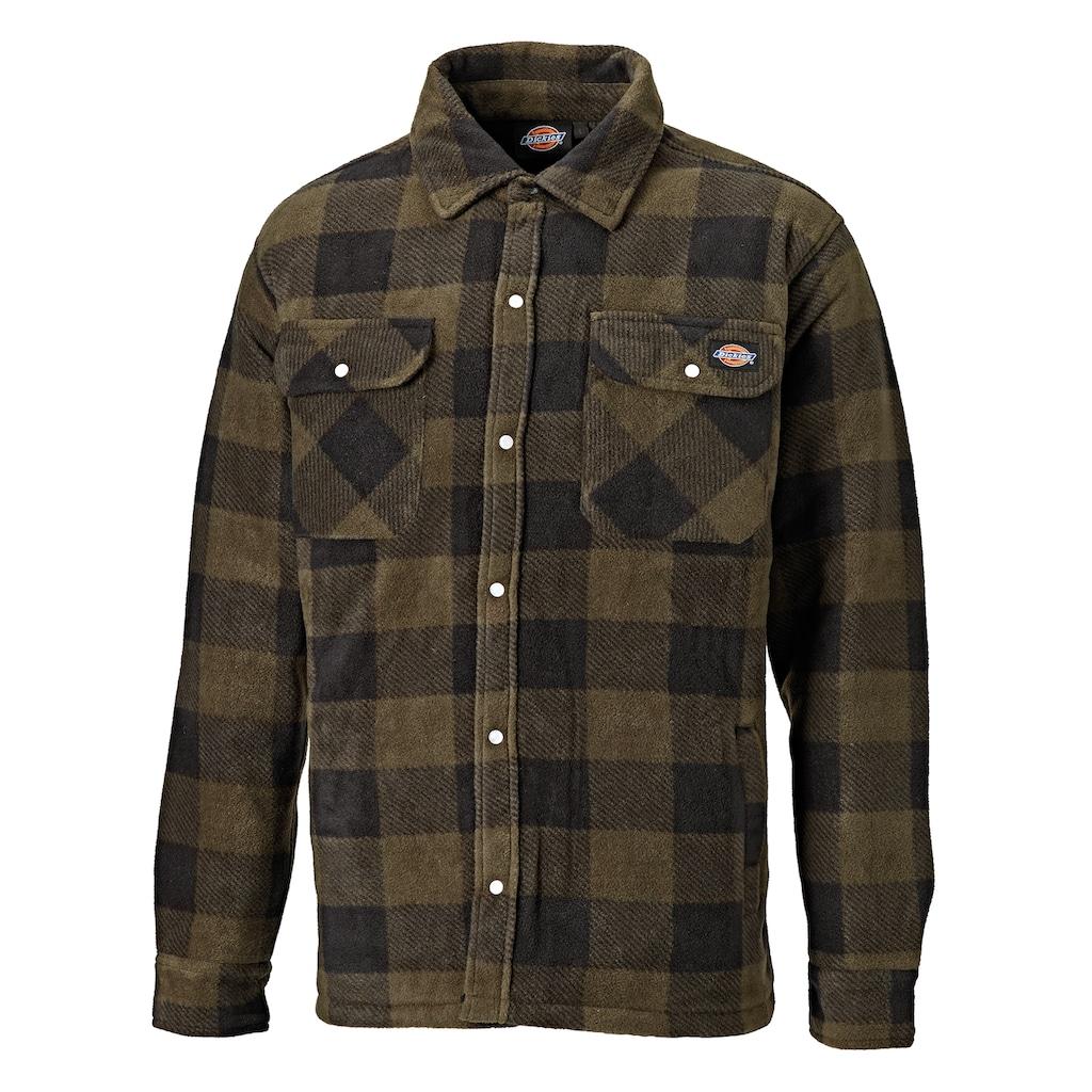 Dickies Flanellhemd »Herren Hemd Portland Lumberjack, Langarm, kariert«
