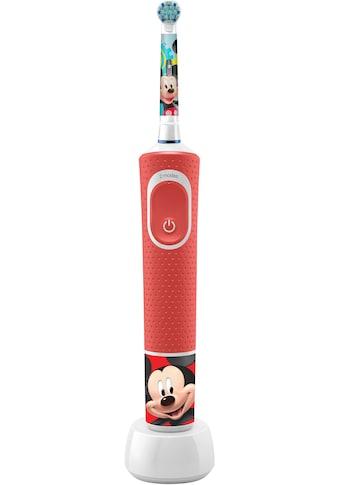 Oral B Elektrische Kinderzahnbürste »Kids Vitality 100 Mickey«, 1 St. Aufsteckbürsten kaufen