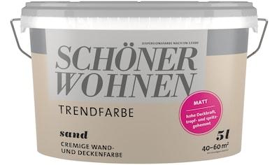 SCHÖNER WOHNEN-Kollektion Wand- und Deckenfarbe »Trendfarbe« kaufen