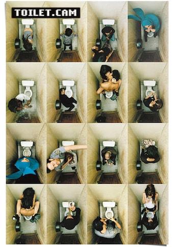 Reinders! Poster »Poster Toilet.Cam 2 family«, Schriftzug, (1 St.) kaufen