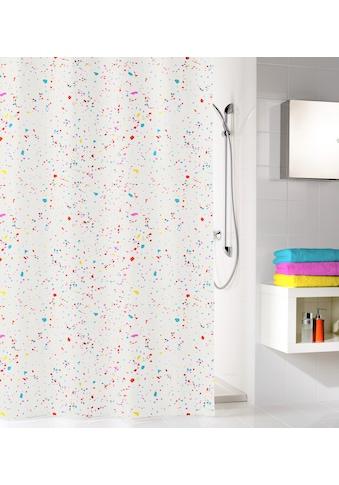 Kleine Wolke Duschvorhang »Confetti«, Breite 180 cm, Höhe 200 cm kaufen