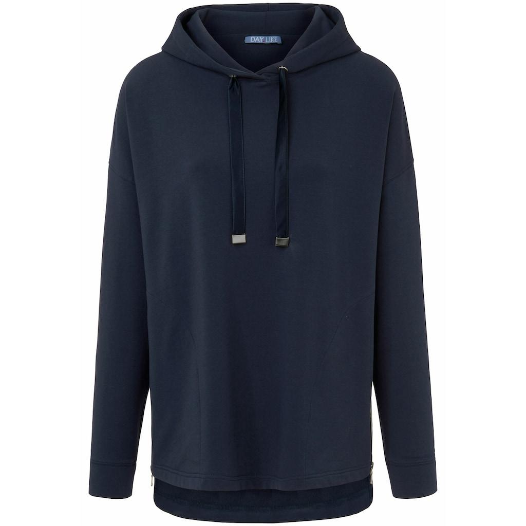 DAY.LIKE Sweatshirt »mit Kapuze«, Bänder