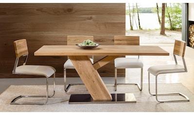 Premium collection by Home affaire Essgruppe, bestehend aus dem Tisch »Ranger« und den... kaufen