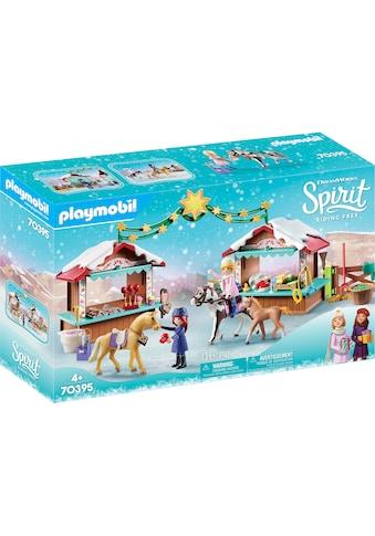 Playmobil® Konstruktions-Spielset »Weihnachten in Miradero (70395), Spirit Riding... kaufen