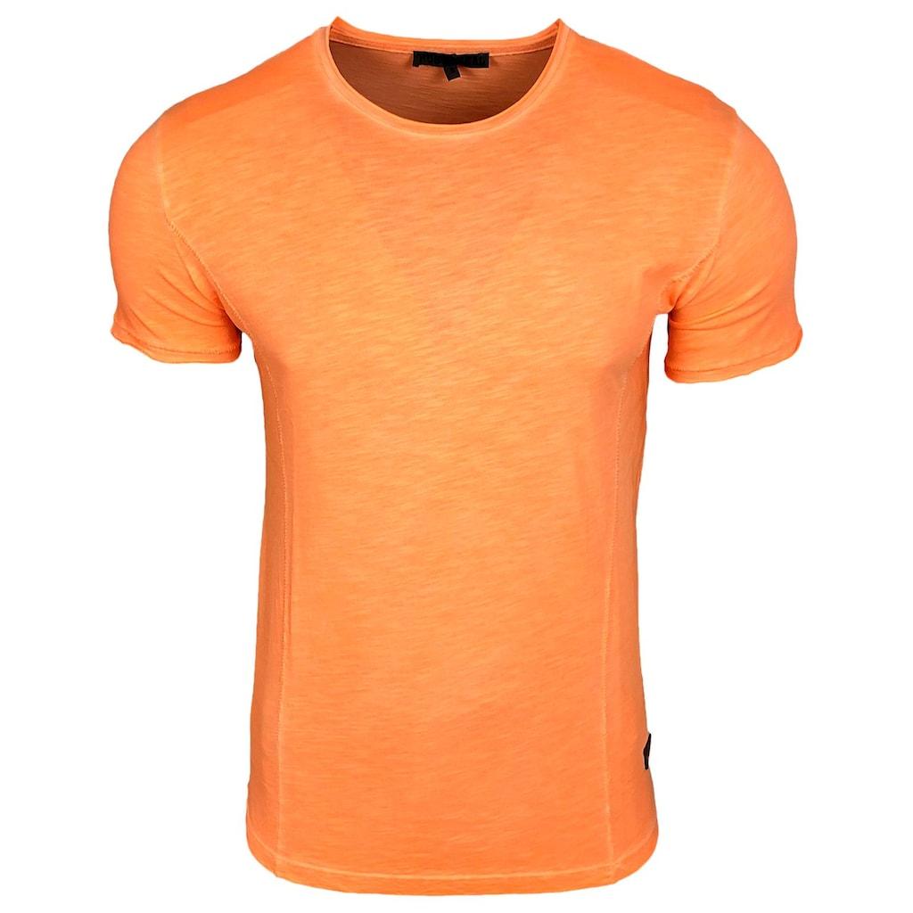 Rusty Neal T-Shirt mit Rundhals-Ausschnitt