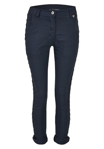 Heimatliebe Colourdenim Jeans mit Nieten kaufen