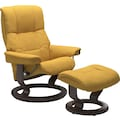 Stressless® Relaxsessel »Mayfair«, mit Hocker, mit Classic Base, Größe S, M & L, Gestell Wenge