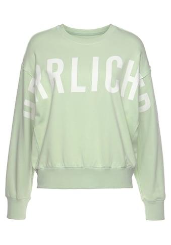 Herrlicher Sweatshirt »CARRIE«, mit Logo-Statement-Print kaufen