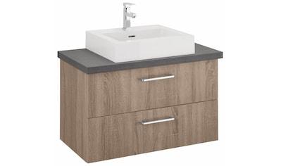 OPTIFIT Waschtisch »Doha«, mit Soft-Close-Funktion, Aufsatzbecken eckig, Breite 85 cm kaufen