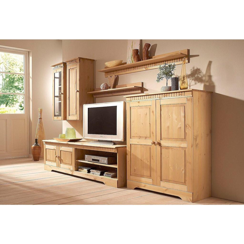 Home affaire Hängeschrank »Cubrix«, aus schönem massivem Kiefernholz, Breite 35 cm, Höhe 85 cm