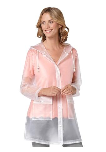 Ambria Regenjacke mit weitenverstellbarer Kapuze kaufen