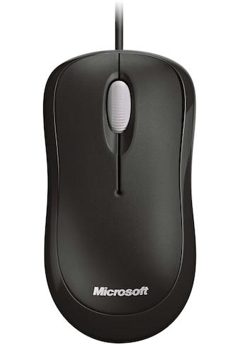 Microsoft ergonomische Maus »Basic Optical«, kabelgebunden kaufen