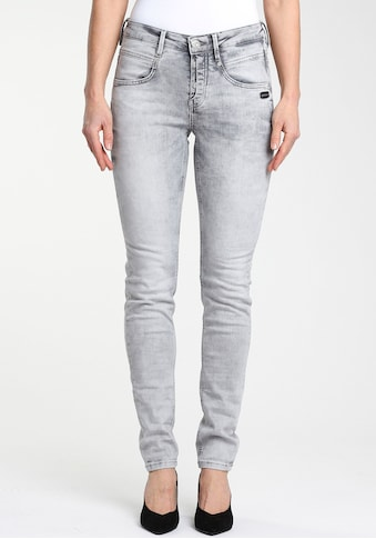 GANG Skinny-fit-Jeans »Medina«, mit stylischer halb offener Knopfleiste kaufen