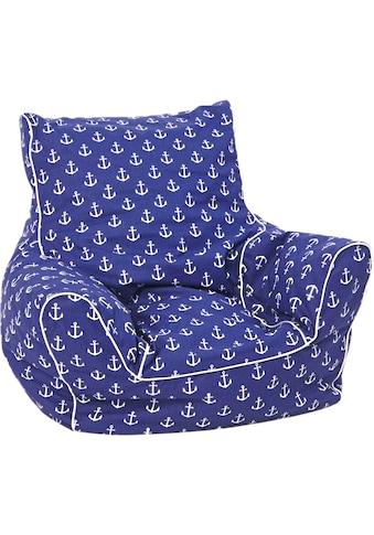 Knorrtoys® Sitzsack »Maritim Blue«, für Kinder; Made in Europe kaufen