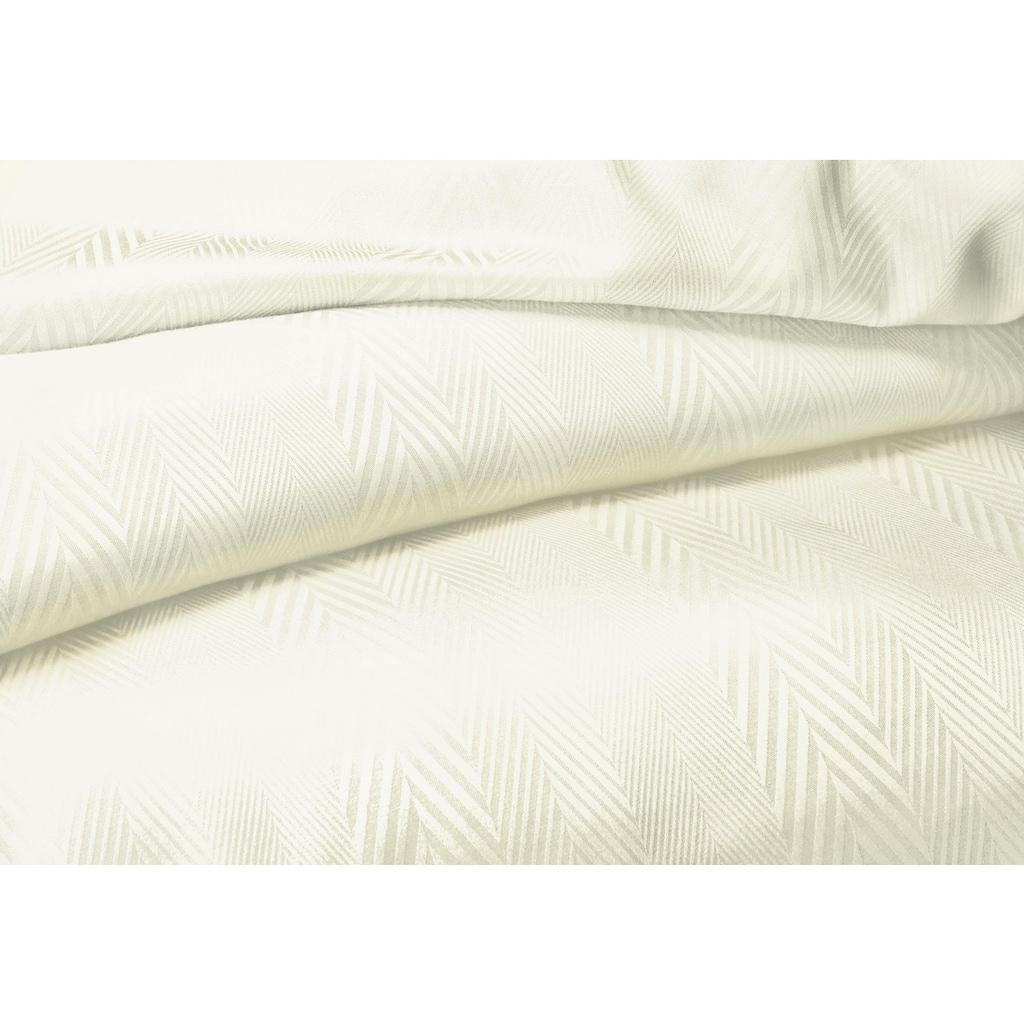 fleuresse Bettwäsche »Jade Fischgrad«, mit Musterung
