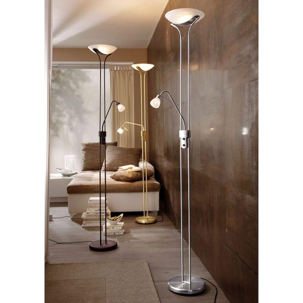 TRIO Leuchten Deckenfluter, G9-R7s, Leseleuchte flexibel einstellbar