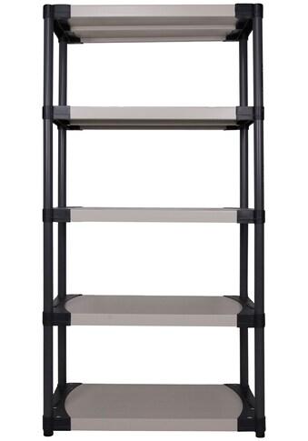 ONDIS24 Steckregal »Worker 90 XL«, 5 Fachböden, Kunststoff kaufen