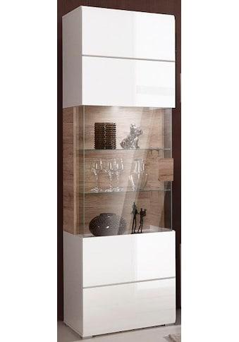 TRENDMANUFAKTUR Vitrine »Toledo«, Höhe 204 cm kaufen