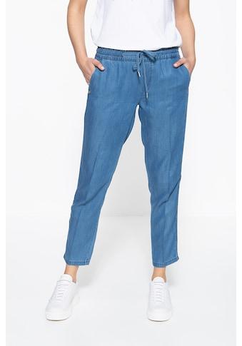 ATT Jeans Schlupfhose »Hannah«, mit Stickerei an den Seitennähten kaufen