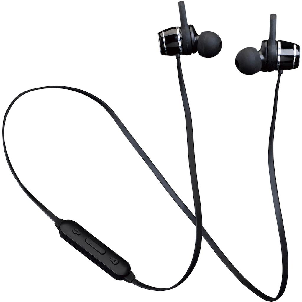 Lenco Bluetooth-Kopfhörer »EPB-030«, Bluetooth, Freisprechfunktion
