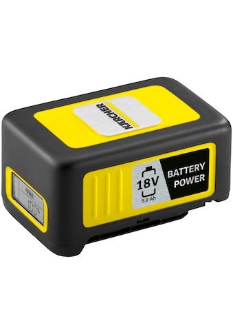 KÄRCHER Akku »Starter Kit Battery Power 18/50«, 18 V, 5 Ah kaufen