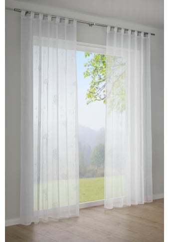 GARDINIA Vorhang »Voile-Flock«, HxB: 245x140 kaufen