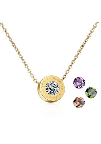 AILORIA Kette mit Anhänger »AGNÈS Halskette Gold« kaufen