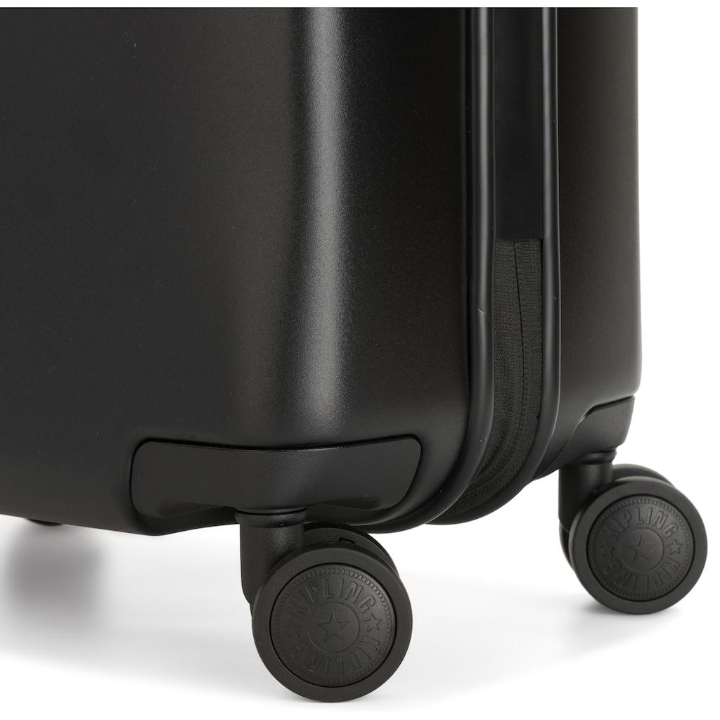 KIPLING Hartschalen-Trolley »Curiosity S, 55 cm, Black Noir«, 4 Rollen