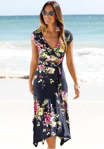 Beachtime Sommerkleid, mit Zipfelsaum kaufen