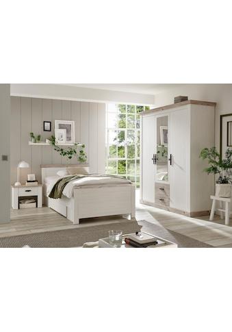 Home affaire Schlafzimmer-Set »Florenz«, (ab Bettgröße 140cm. sind 2 Nachttische... kaufen