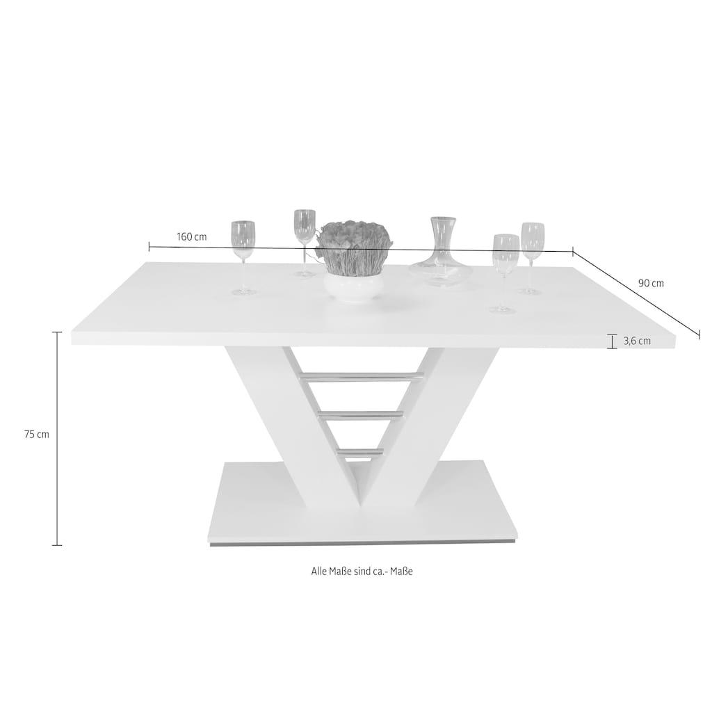 Säulen-Esstisch »Bahrain«, Breite 160 cm