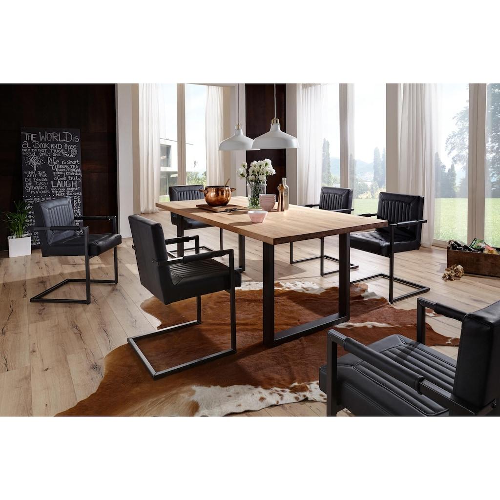 Premium collection by Home affaire Esstisch »Brooklyn«, aus massiver Wildeiche