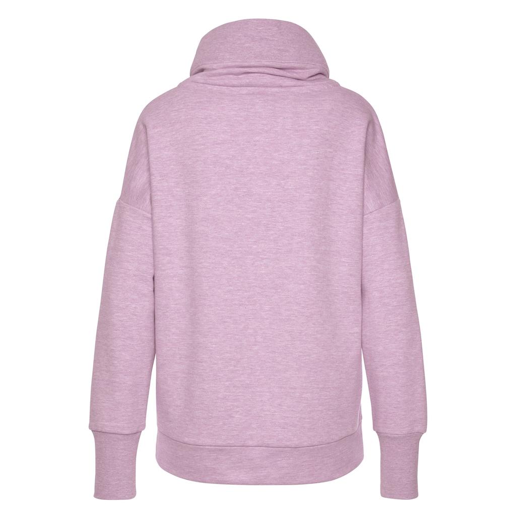 Elbsand Sweatshirt »Arndis«, mit Flockprint