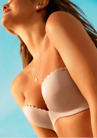 LASCANA Push-up-BH, mit abnehmbaren Trägern und extraflacher Muschelkante kaufen