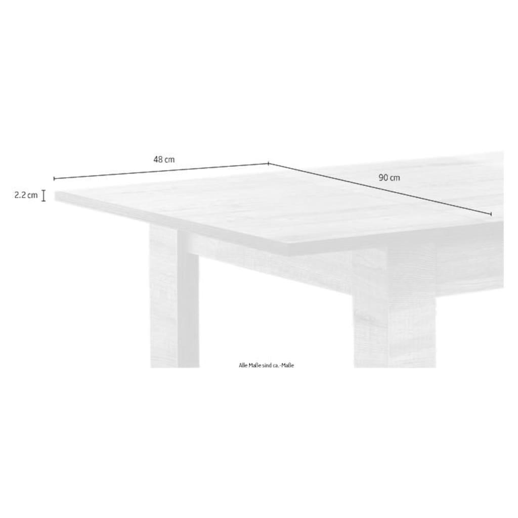 LC Esstisch »Milano«, Breite 137-185 cm, inkl. Auszugsfunktion