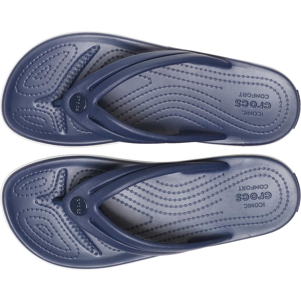Crocs Zehentrenner »Crocband Flip«, mit leicht genoppter Innensohle