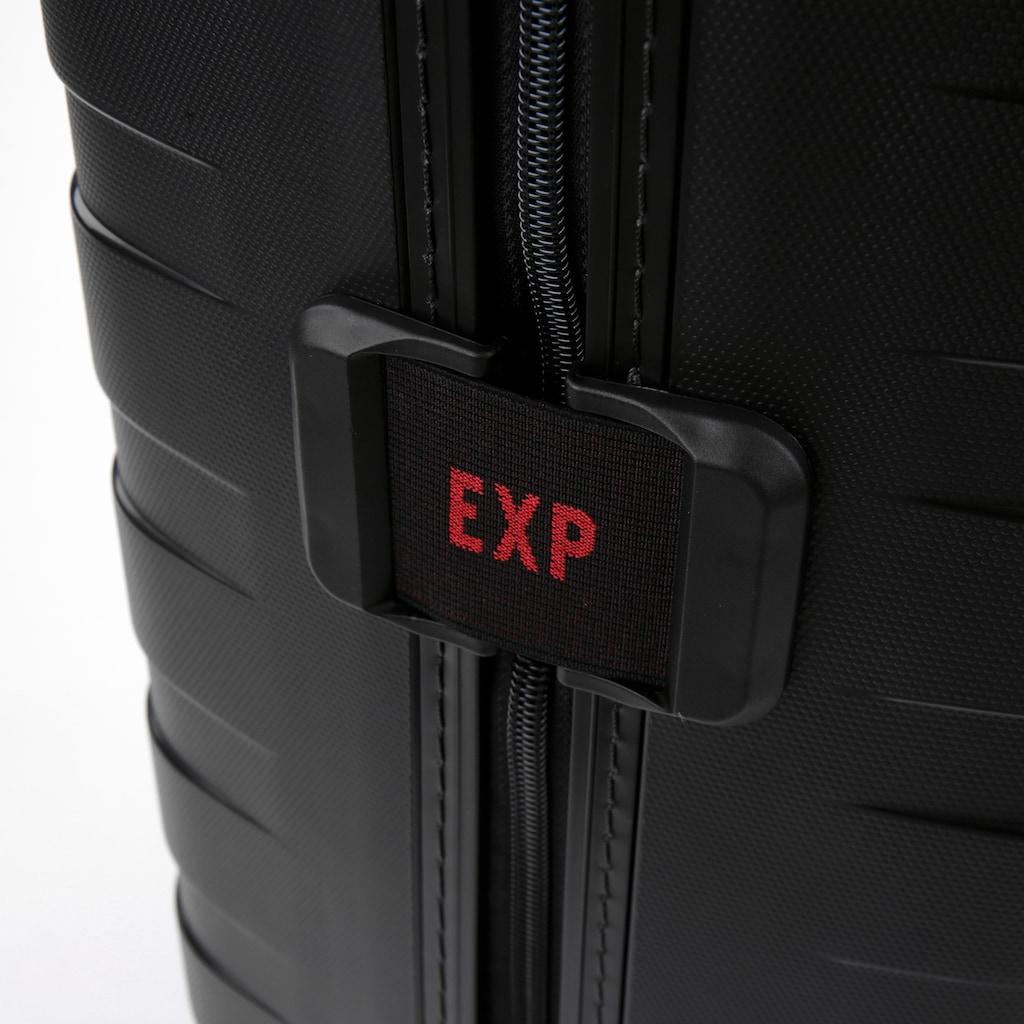 RONCATO Hartschalen-Trolley »BOX 4.0, 55 cm«, 4 Rollen, mit Volumenerweiterung; Made in Europe