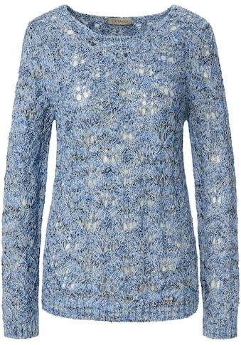 Uta Raasch Strickpullover »Rundhals-Pullover«, Dekorative Naht kaufen