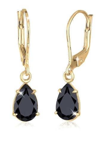 Elli Paar Ohrhänger »Tropfen Klassisch Kristalle 925 Silber« kaufen