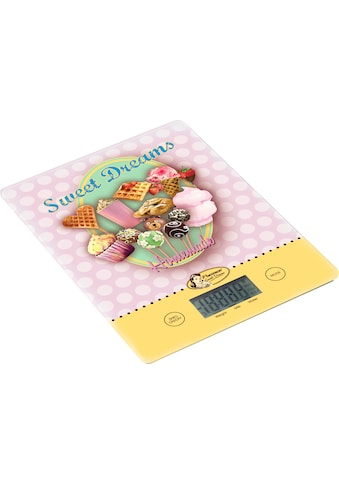 "bestron Küchenwaage ""Sweet Dreams"", (3 - tlg.) kaufen"