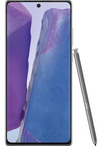"""Samsung Smartphone »Galaxy Note20«, (16,95 cm/6,7 """", 256 GB Speicherplatz, 64 MP Kamera) kaufen"""